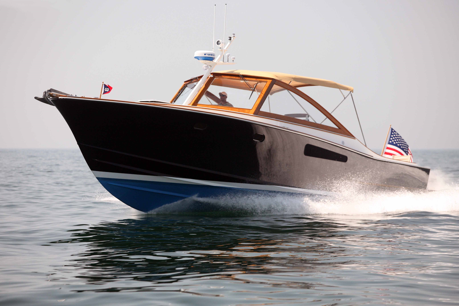 Ray Hunt Design 38' Cold Molded Express
