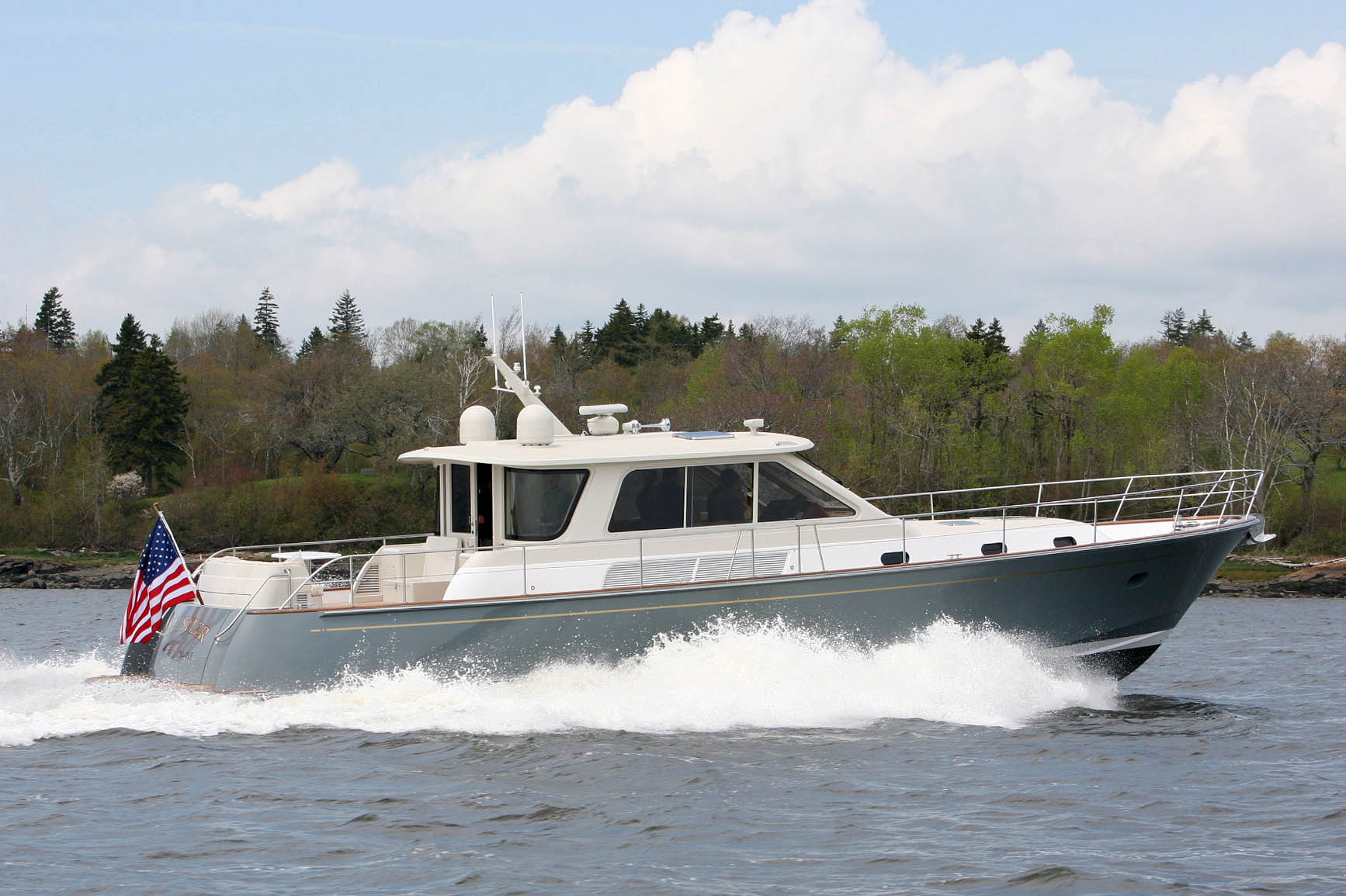 Ray Hunt Design 54' Waterjet Express