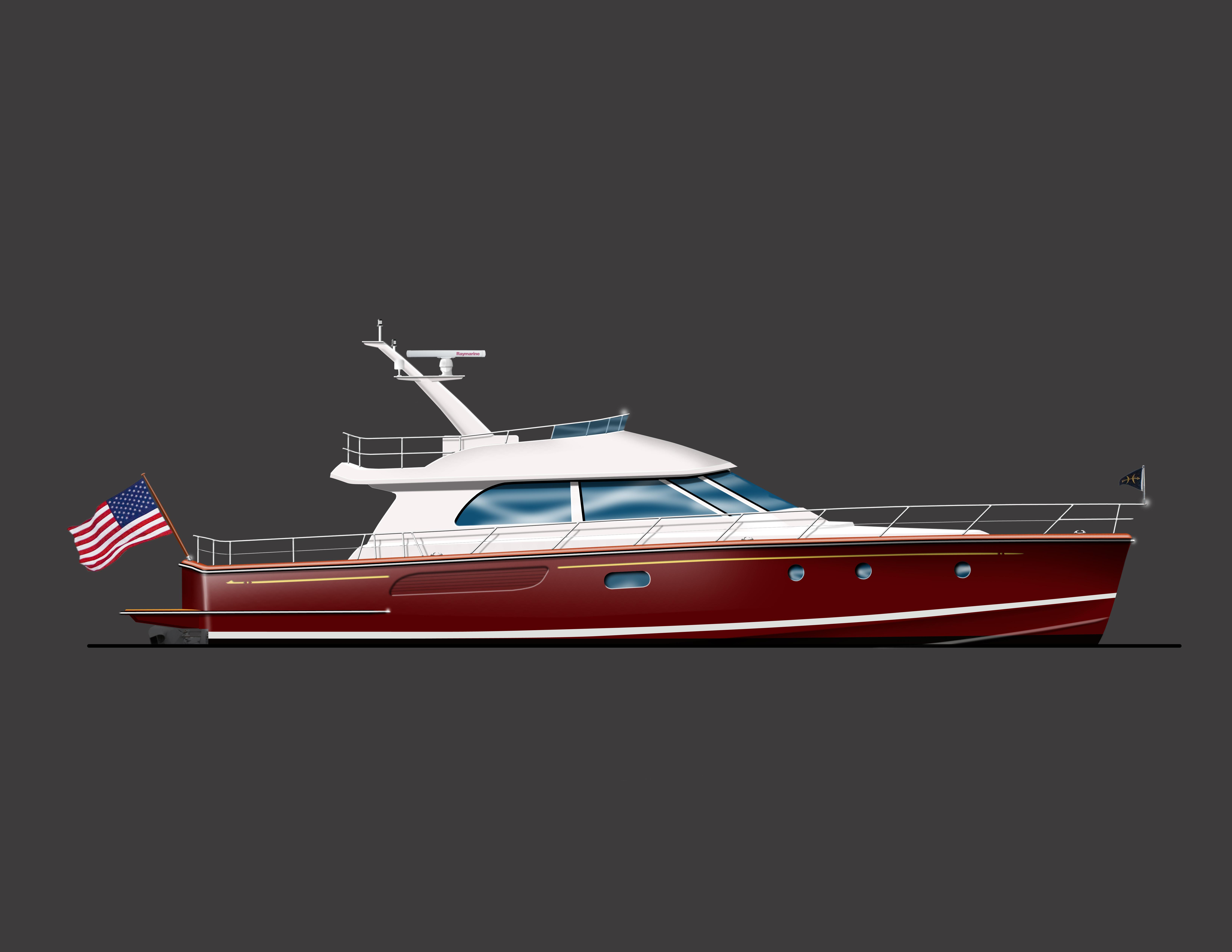 Ray Hunt Design | Custom Yachts Up To 70 Feet | 70
