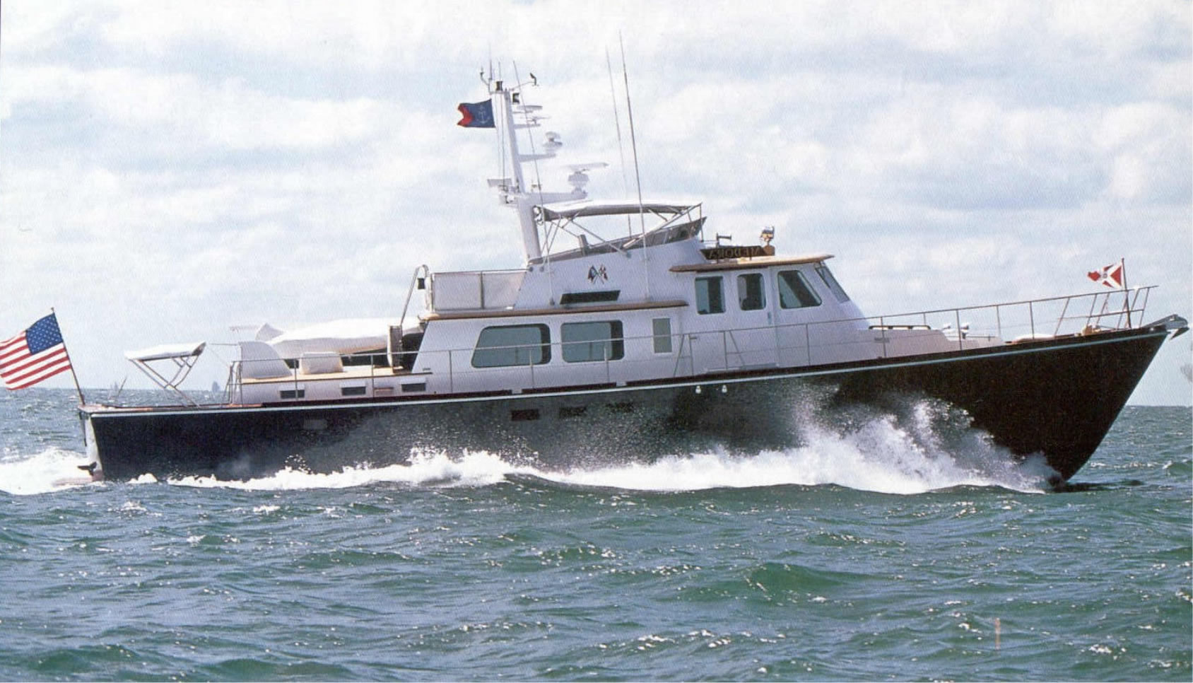 Ray Hunt Design 72' Aft Cabin Motor Yacht