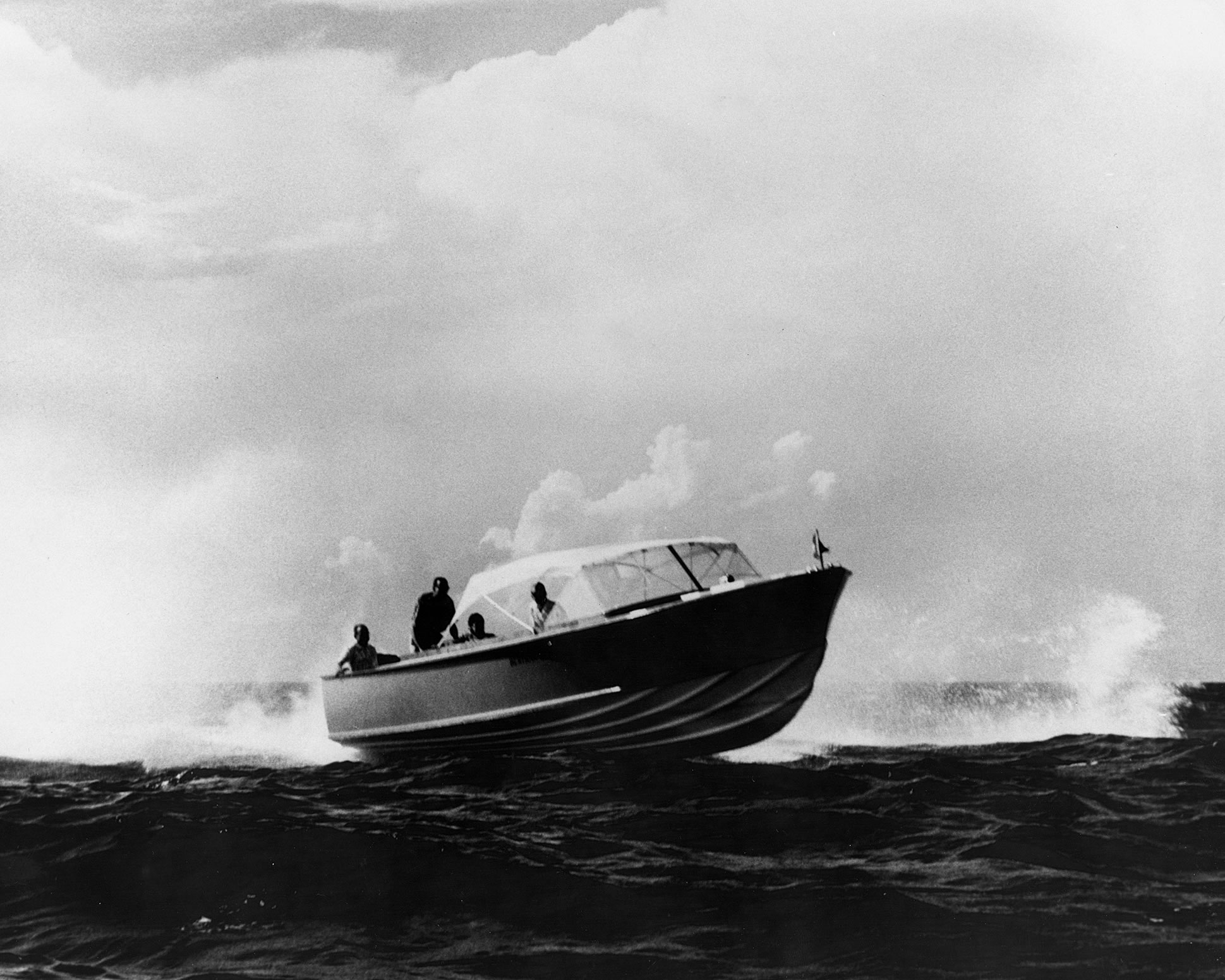 It came from Dick Bertram's runabout (a 30-foot wood boat which was used for ...