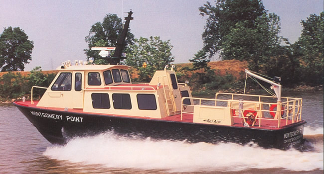 Commercial Transportation Boats 48' Crewboat