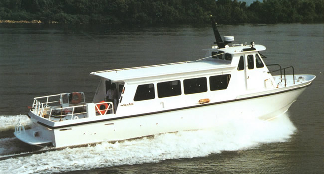 Commercial Transportation Boats 55' Crewboat