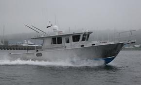 35' Custom Yacht Aluminum Fishing Boat