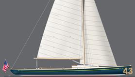 43' Custom Yacht Daysailer