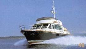 48' Custom Yacht Cabin Cruiser