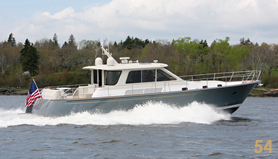 54' Custom Yacht Waterjet Express