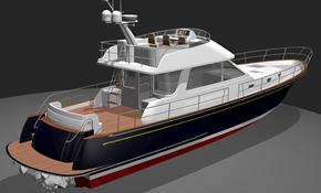 54' Custom Yacht Waterjet Flybridge