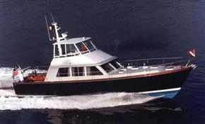 60' Custom Yacht Flybridge Cruiser