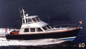 60' Custom Yacht Flybridge Cruiser