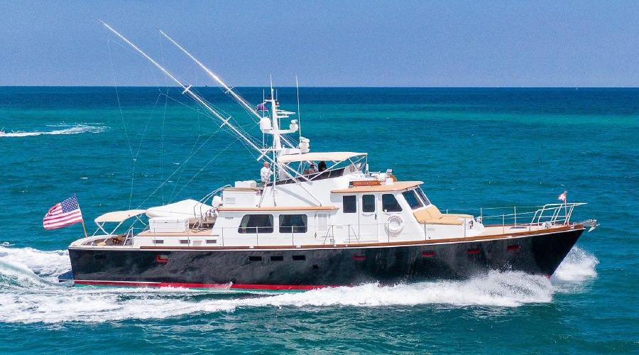 72' Cabin Motor Yacht