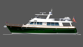 72' Classic Motor Yacht