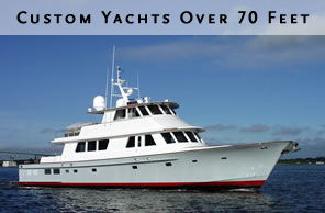 Custom Yachts Over 70 Feet