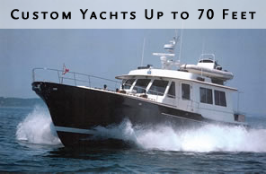 Custom Yachts Up To 70 Feet