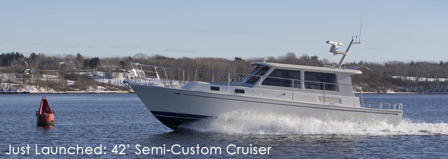 42' Custom Cruiser Yacht