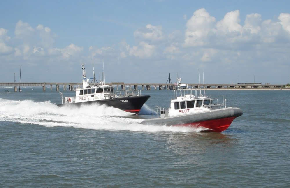 Ray Hunt Design Texas Class and Resilient Class Pilot Boats